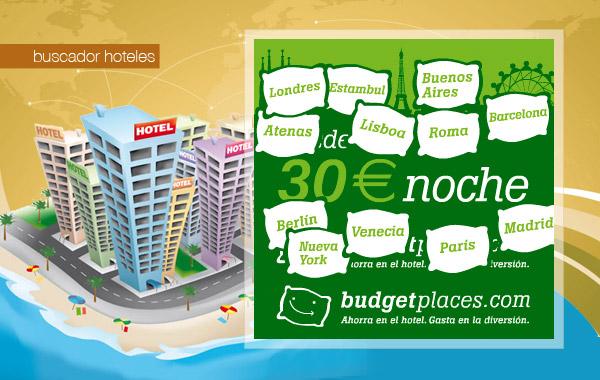Budget places buscador de hoteles práctico