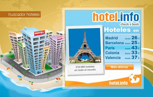 Buscador de hoteles hotel.info
