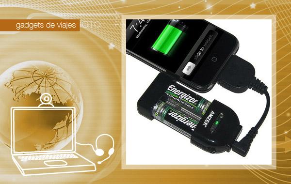 Cargador universal de viaje para móviles