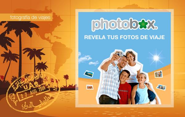 Revelado online de fotografías con Photobox